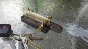 Torsion Bar Portable Key